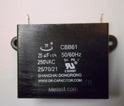 Generator Capacitor CBB61                 20uF 250VAC , generator parts