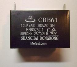 Generator Capacitor CBB61                 12uF 300VAC