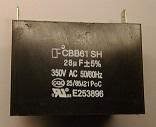 cbb611 28uF 350VAC Capacitor