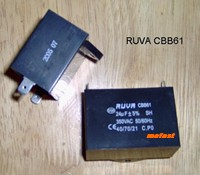 CBB61 24uF 350VAC Capacitor , fast