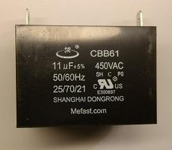 Generator capacitor                   CBB61 11uF 450VAC, generator parts