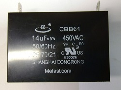 CBB61 14uF                   450VAC Capacitor , Generator parts