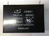 CBB61 14uF 450VAC                   Capacitor