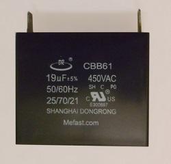 CBB61 19uF 450VAC Generator Capacitor ,                   ggenerator parts