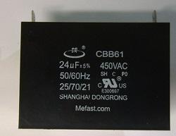 CBB61 24uF 450VAC , Generator Capacitors and                   generator parts