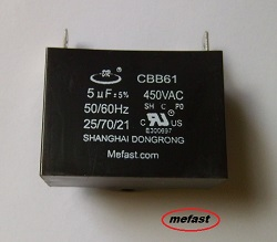Generator Capacitor                   CBB61 5uF 450VAC a