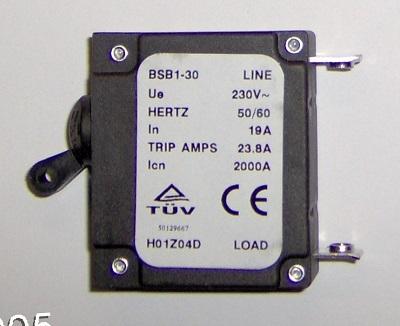 BSB1-30 Series 19A               Breaker