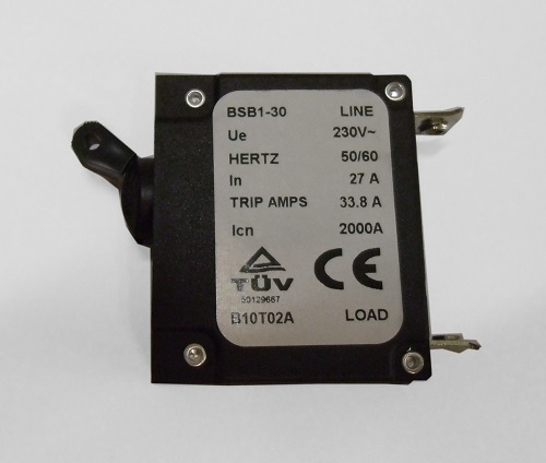BSB1-30 27A Circuit               Breaker