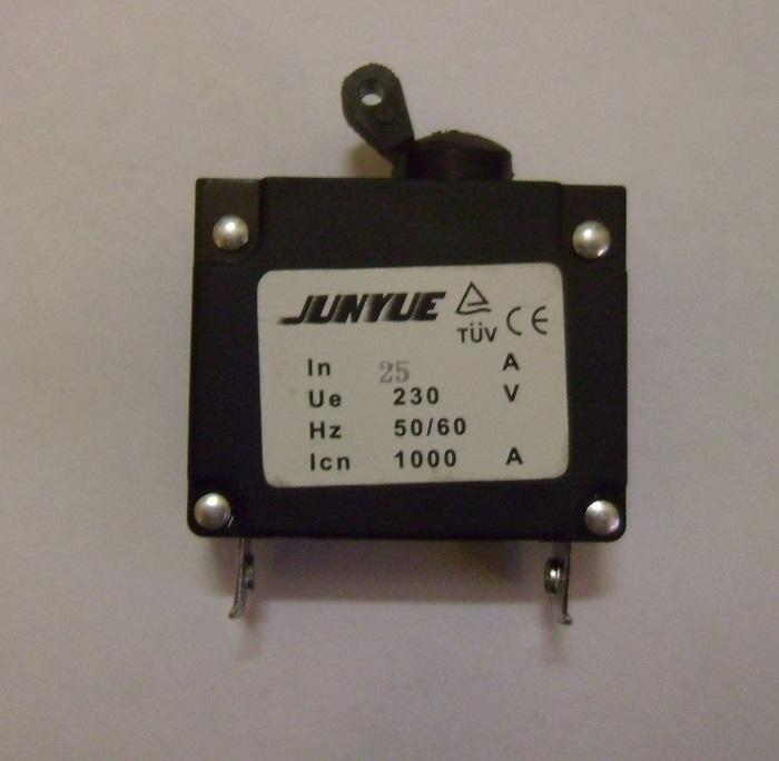 Generator Circuit Breaker                   JUNYUE 25A