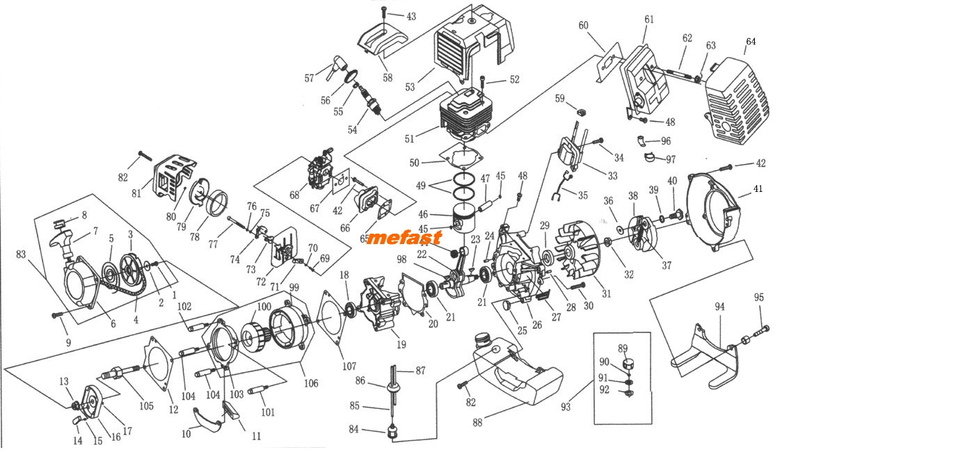 49cc Engine