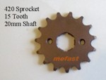 420 Dirtbike Sprocket