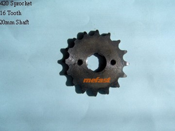 420 Sprocket 16 tooth