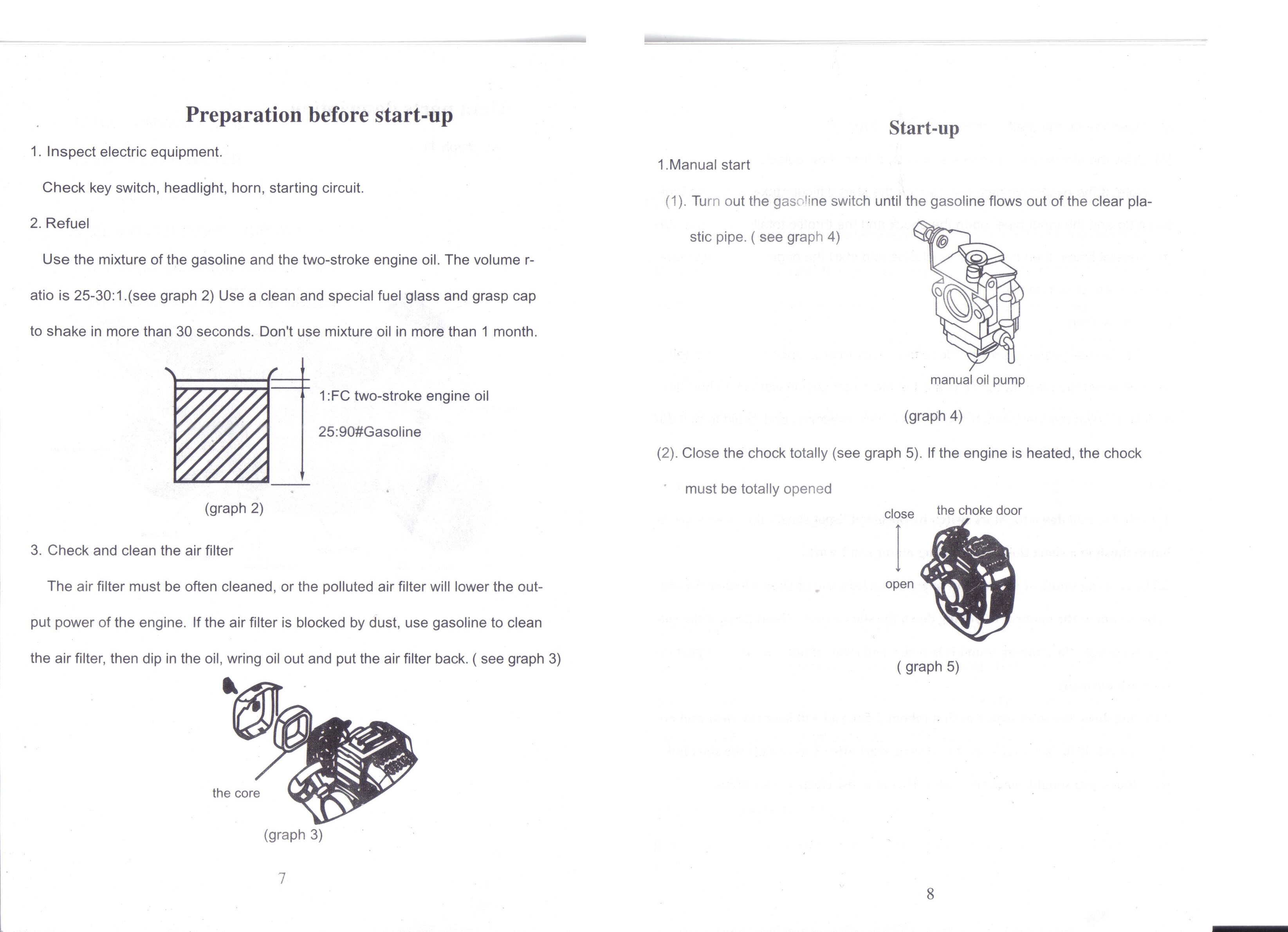 Gs 12 Owners Manual 49cc Superbike 2 Stroke Pocket Bike Wiring Diagram Page